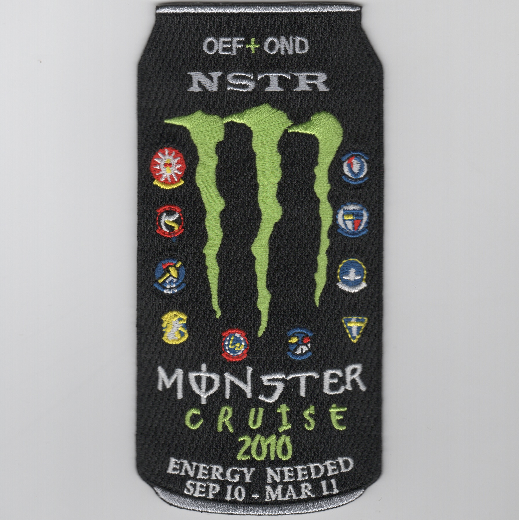 CVN-72 'Monster Energy' Cruise Patch
