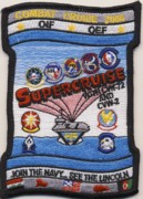 CVN-72/VAQ-131 2008 'SuperCruise' Patch