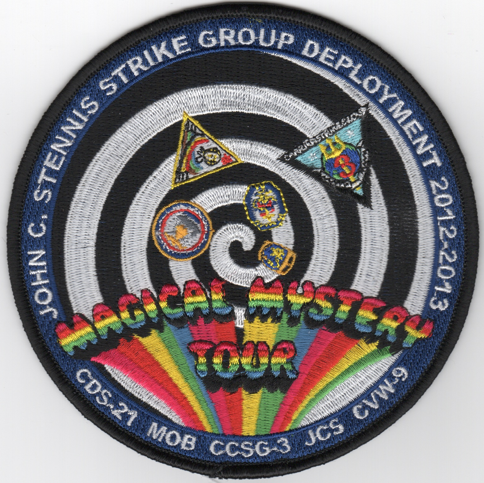 CVN-74/CVW-9 2013 'Magical Mystery' Cruise Patch