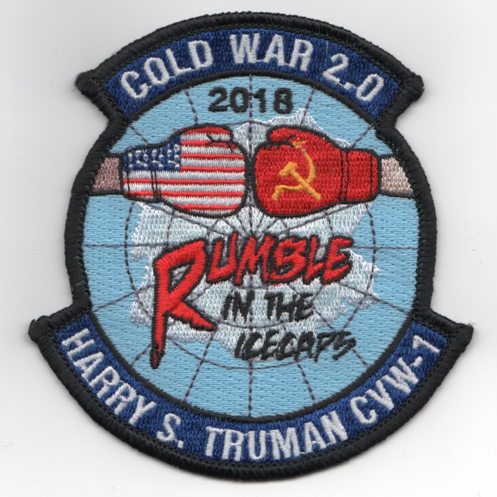 CVN-75 2018 'RUMBLE' Cruise Patch
