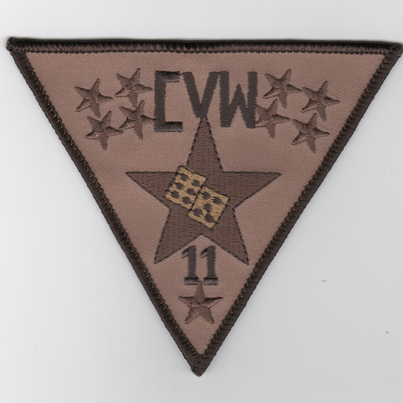 Carrier Air Wing Eleven (CVW-11) 'Dice' Patch (Des)