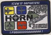CVW-17 'DEPORTES' Cruise Patch