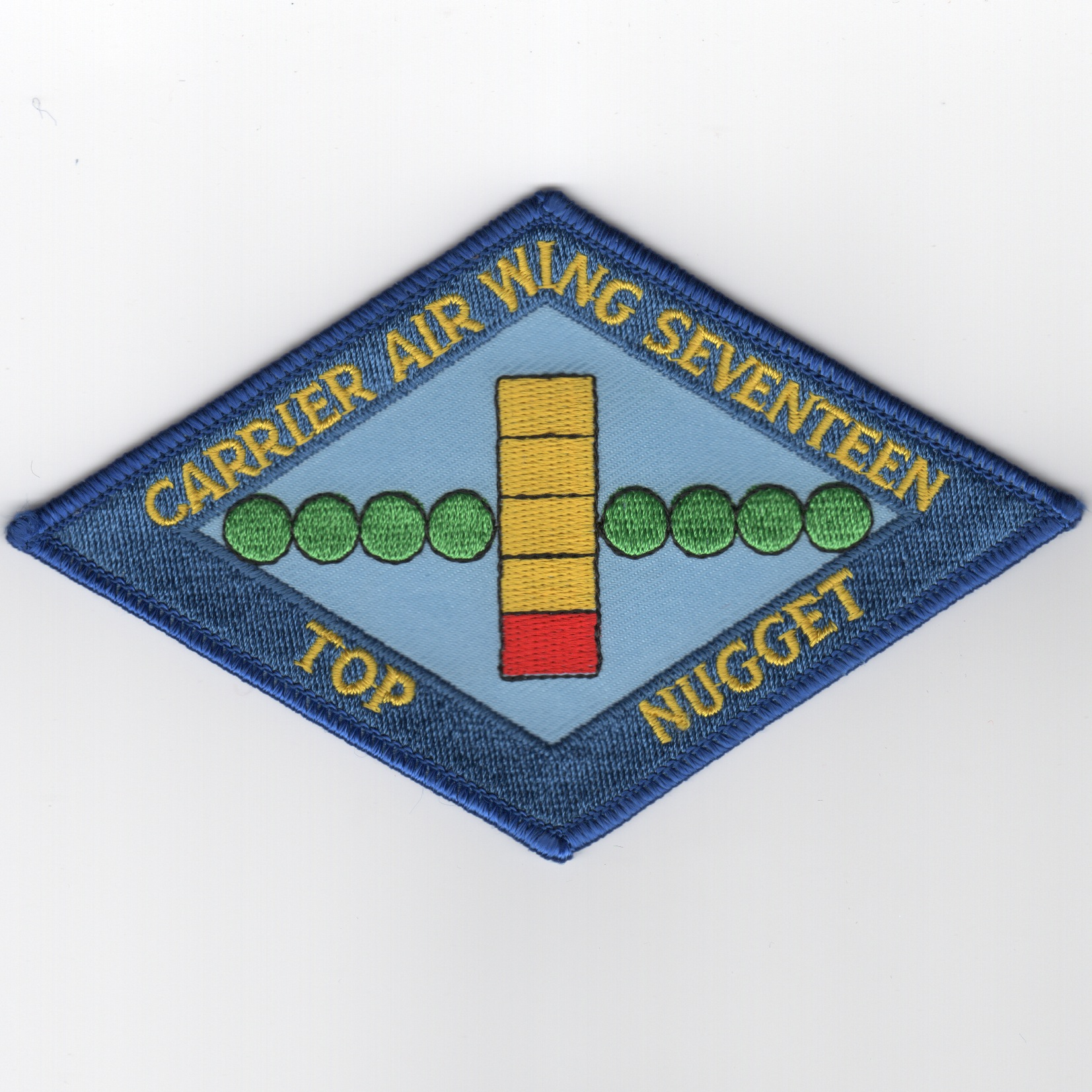 CVW-17 'TOP NUGGET' Traps Patch