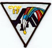 CVW-17 Patch (White)