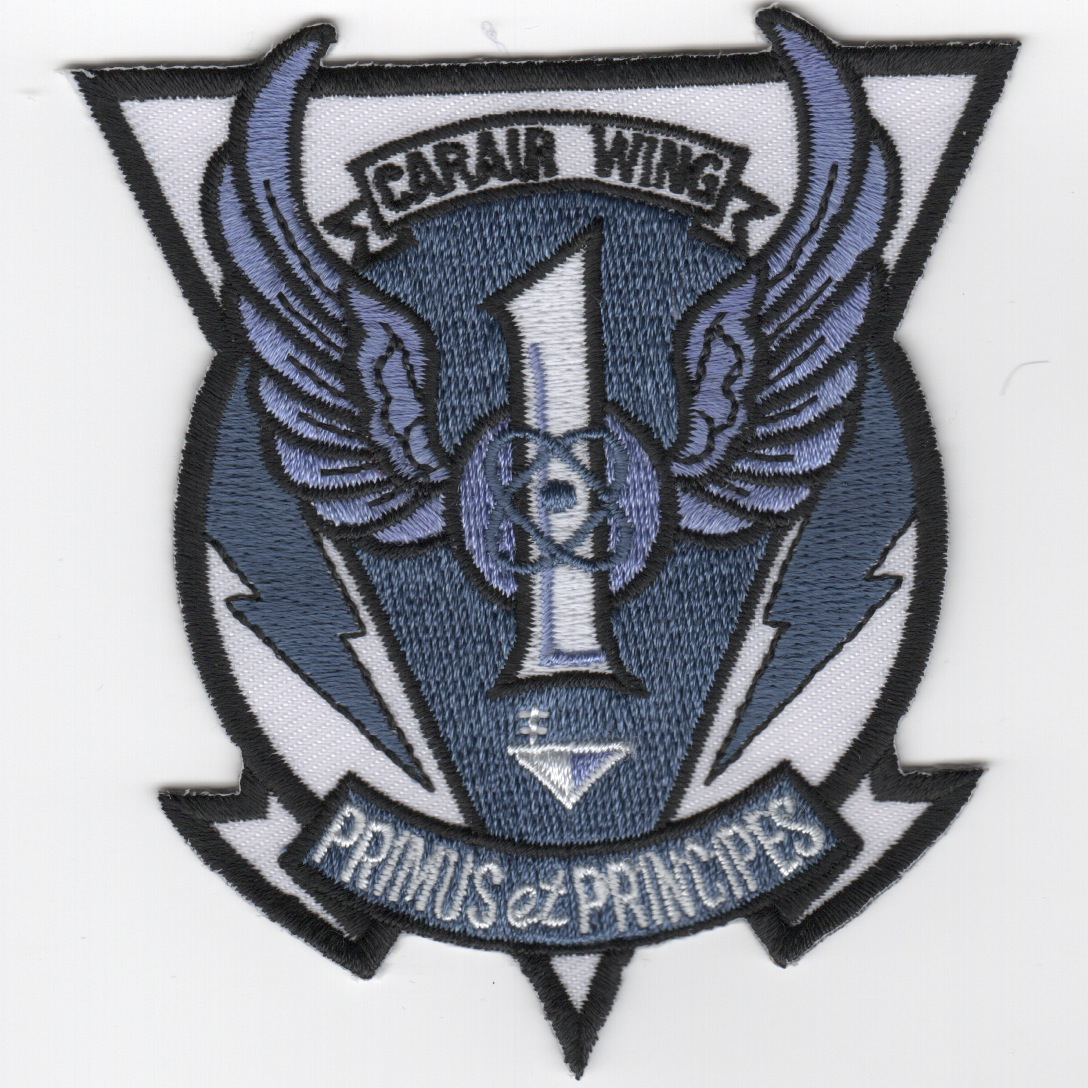 CVW-1 Patch (Small/Gray)