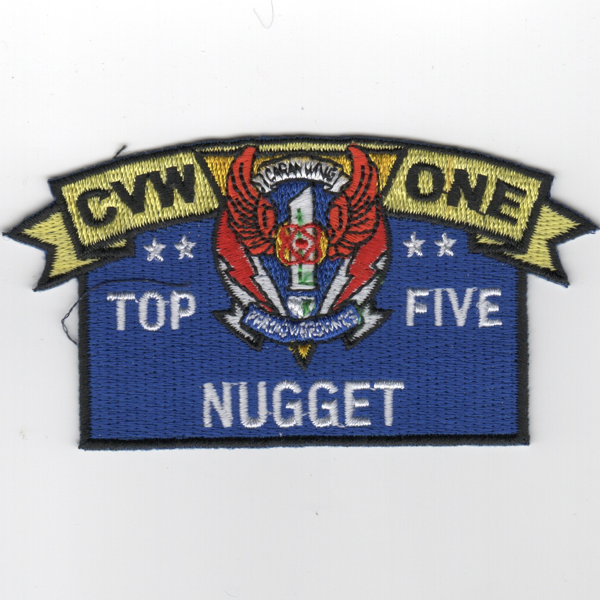 CVW-1 'TOP FIVE NUGGET' Award Patch