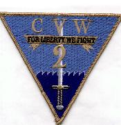 CVW-2 'Liberty' Patch (Gray Border)