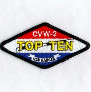 CVW-2 'TOP TEN' Patch