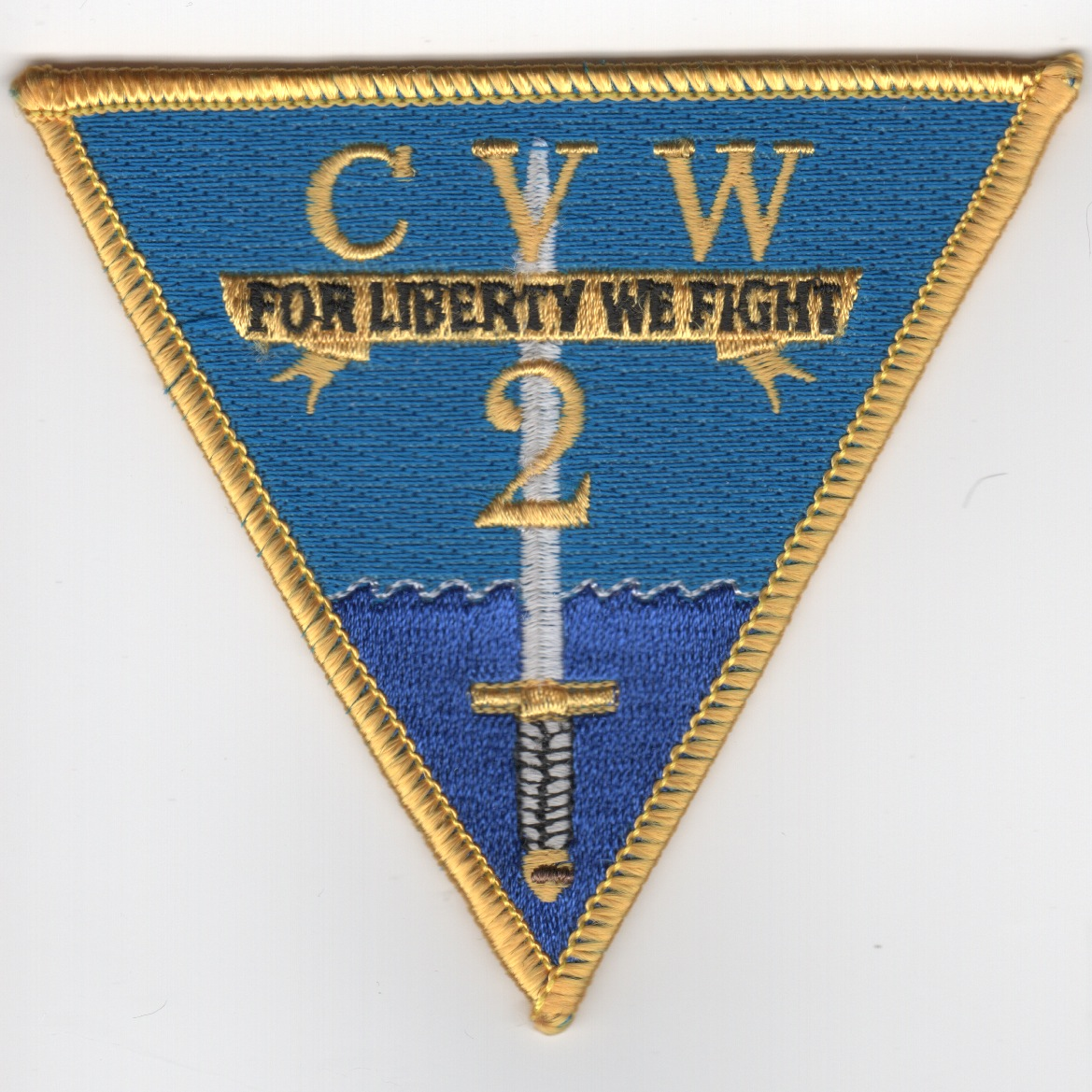 CVW-2 'Liberty' Patch (Yellow Border)