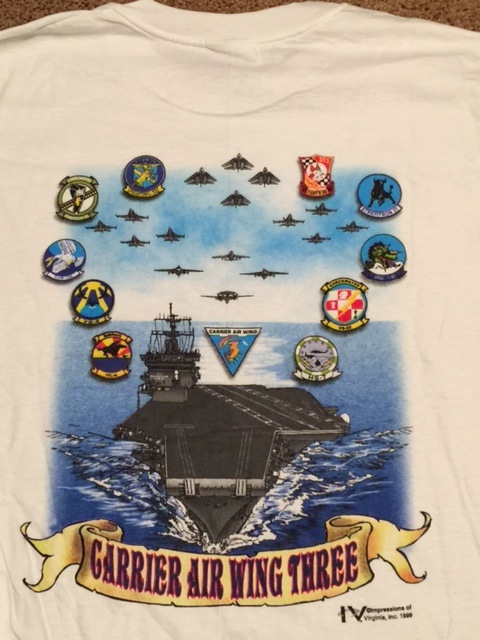 CVW-3 Flyover T-Shirt (Back)