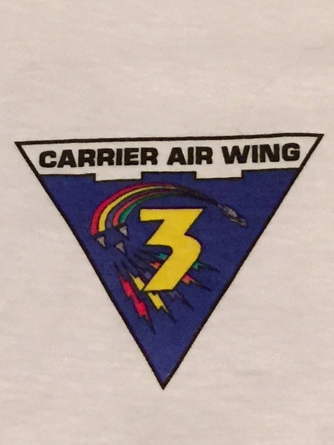 CVW-3 Squadron Gaggle T-Shirt (Front)