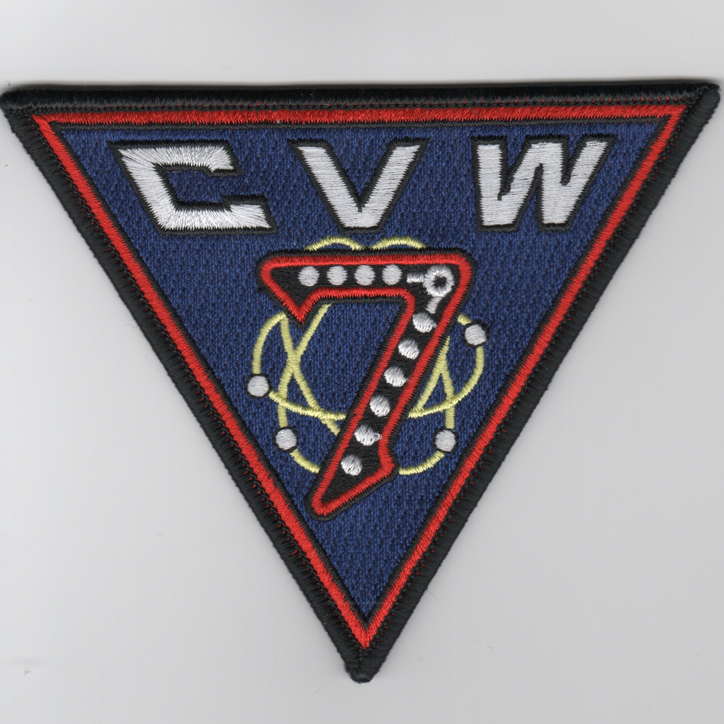 CVW-7 Patch (Old Style/Fully Emb.)