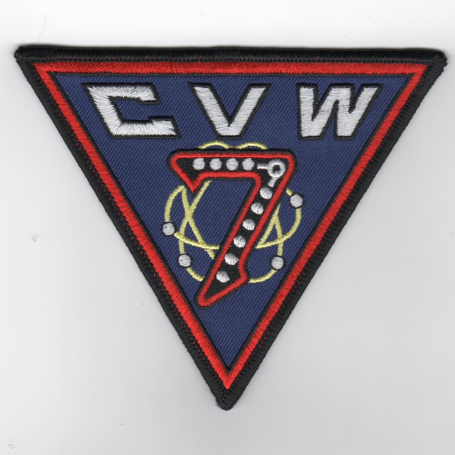 CVW-7 Patch (Old Style/Twill)