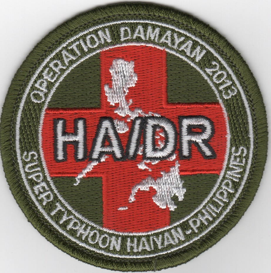 Operation Damayan 2013 'HA/DR' Patch (Round)
