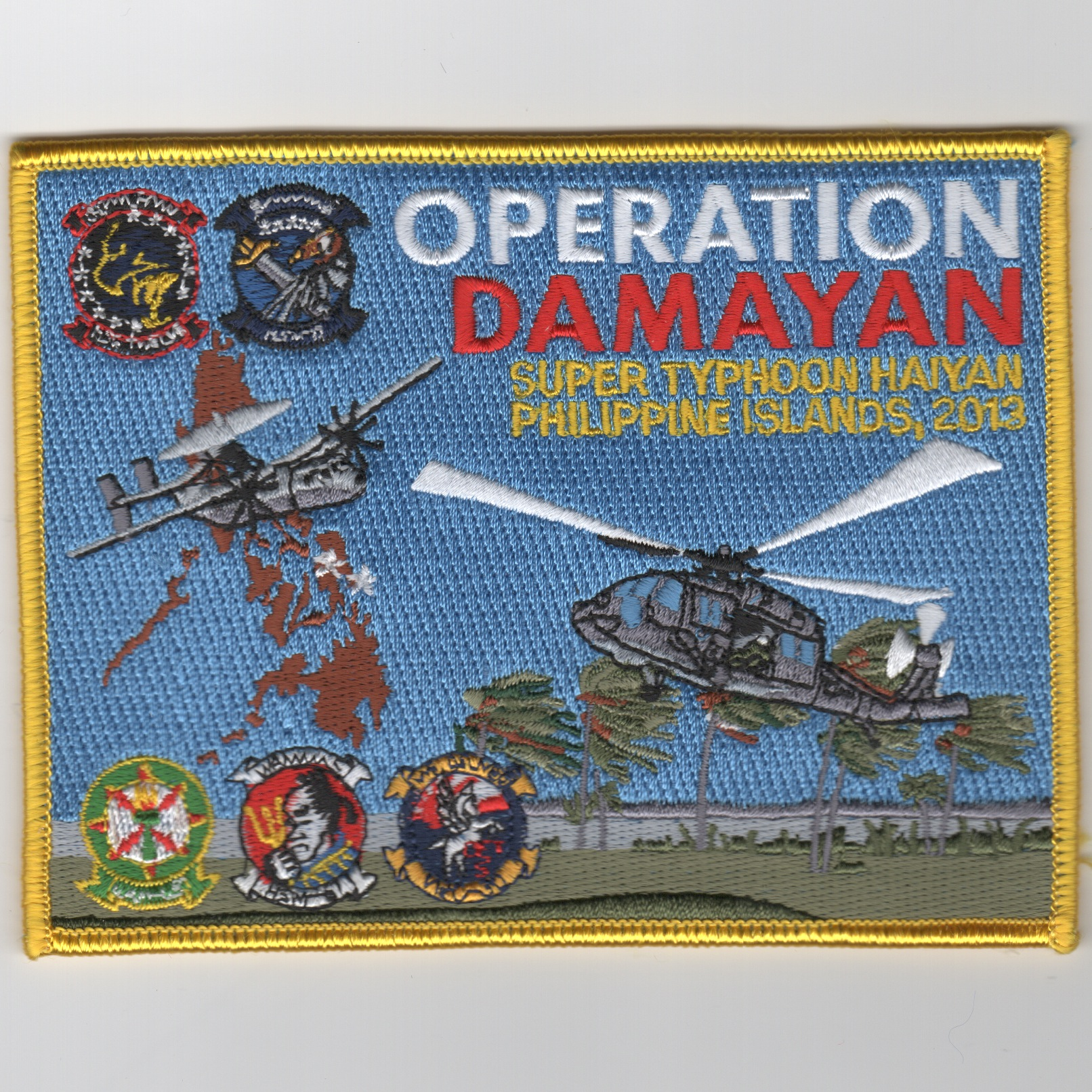 Operation Damayan 2013 'HA/DR' Patch (Rect)