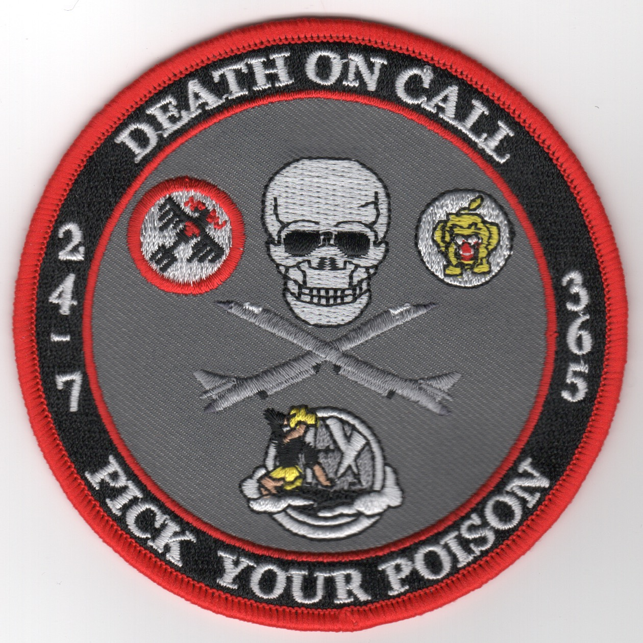 B-1 'Death On Call' Gaggle Patch