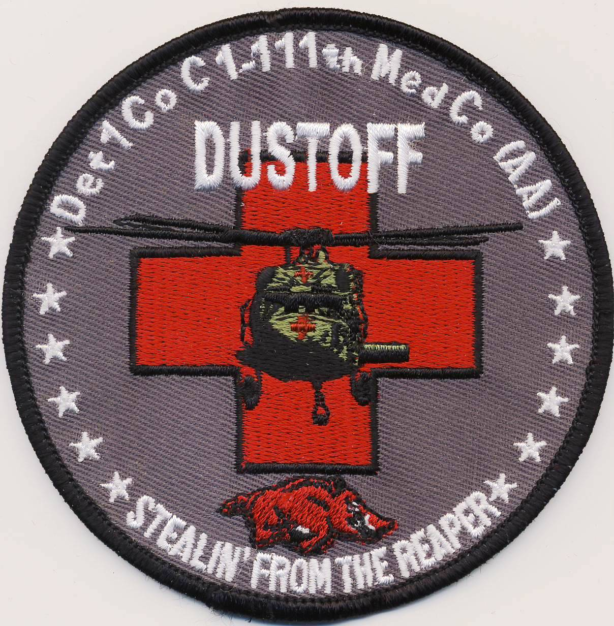 Det 1 Co C 1-111th Med Company (DUSTOFF) Patch