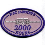 E-2C Hawkeye 2000 Hours Patch