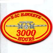 E-2C Hawkeye 3000 Hours Patch