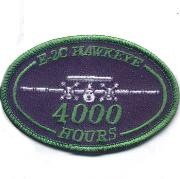 E-2C Hawkeye 4000 Hours Patch