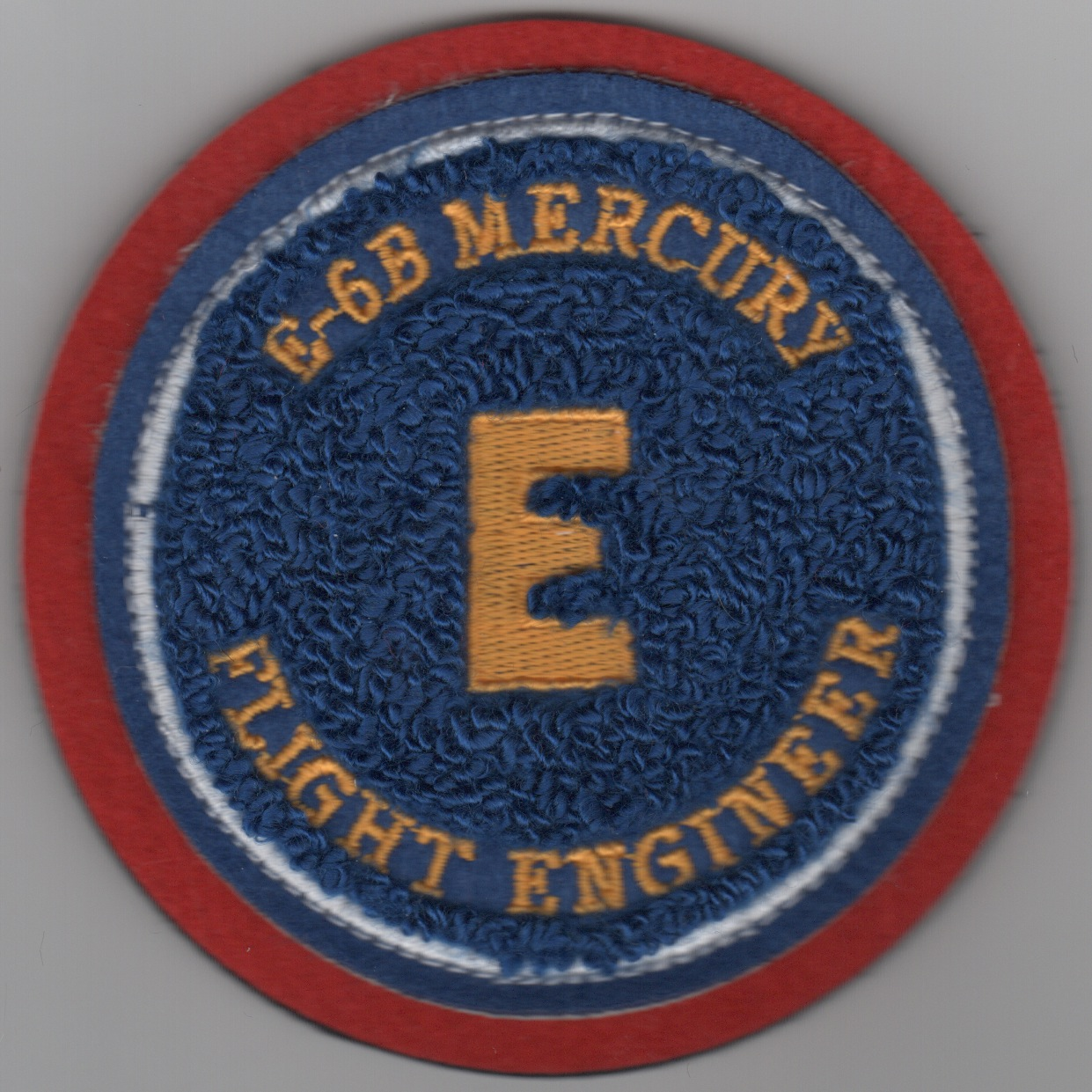 E-6B 'Mercury' FE Patch (Chennille)