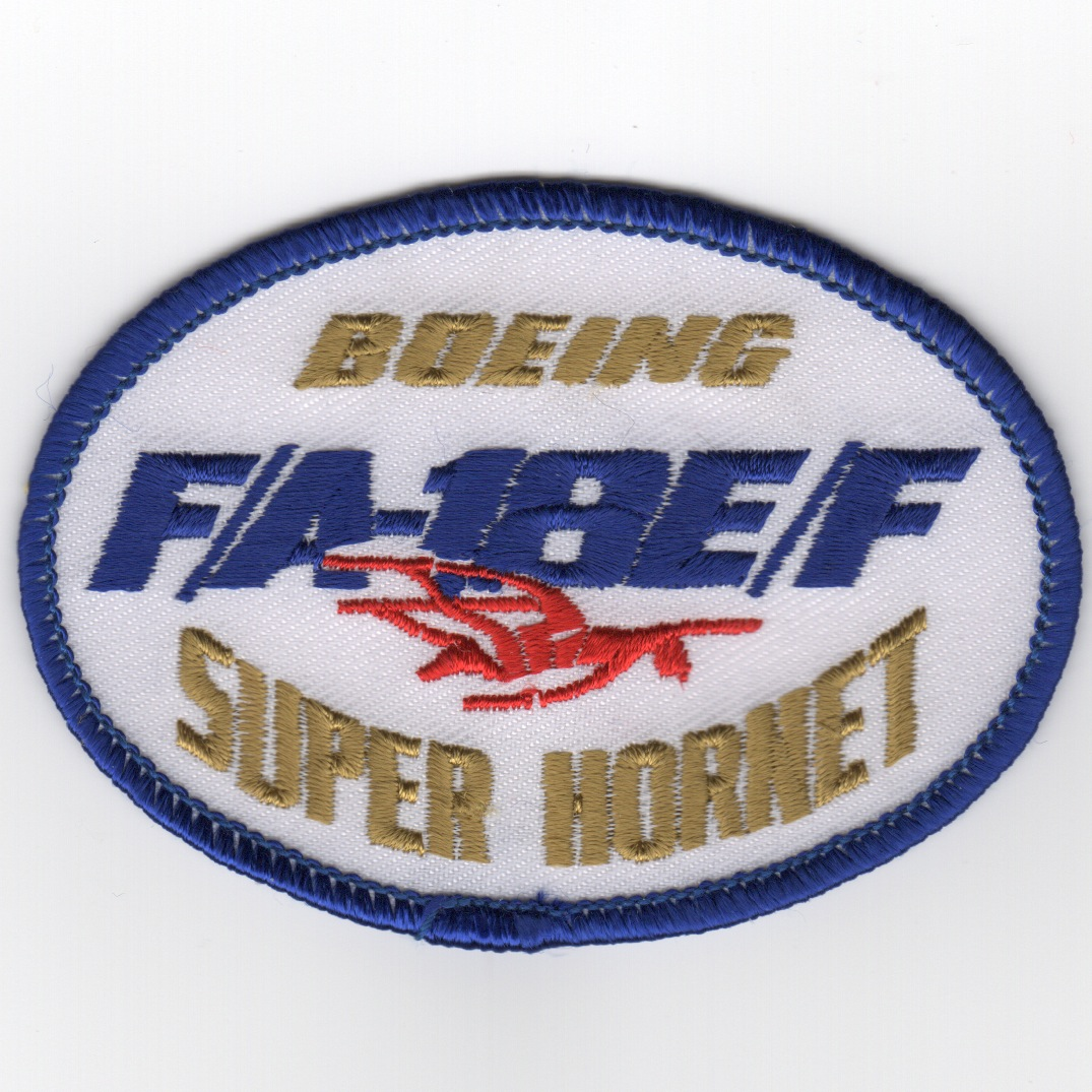 F/A-18E/F SUPER-Hornet Oval (White)