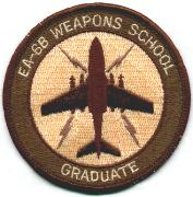 Electronic Attack Weapons School Patch (Tan)