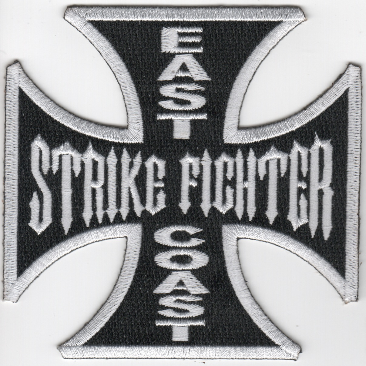 East Coast Strike Fighter Maltese Cross (Black)
