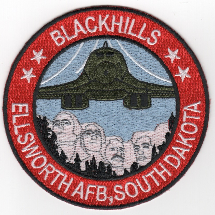Ellsworth AFB B-1B Patch (Red)