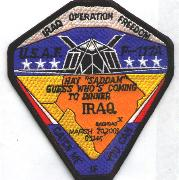 F-117A OIF 'Coming to Dinner' Patch