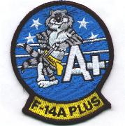 F-14A+ Felix (Lt. Blue) Patch