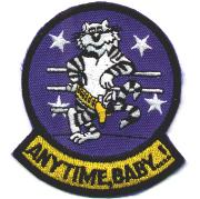 F-14 'Anytime, Baby' Felix Patch (Dk Blue)