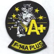 F-14A+ Felix Patch (Black)