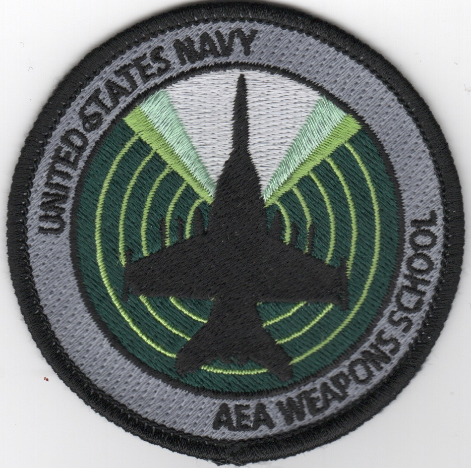 F-18 'AEA Weapons School' Bullet Patch