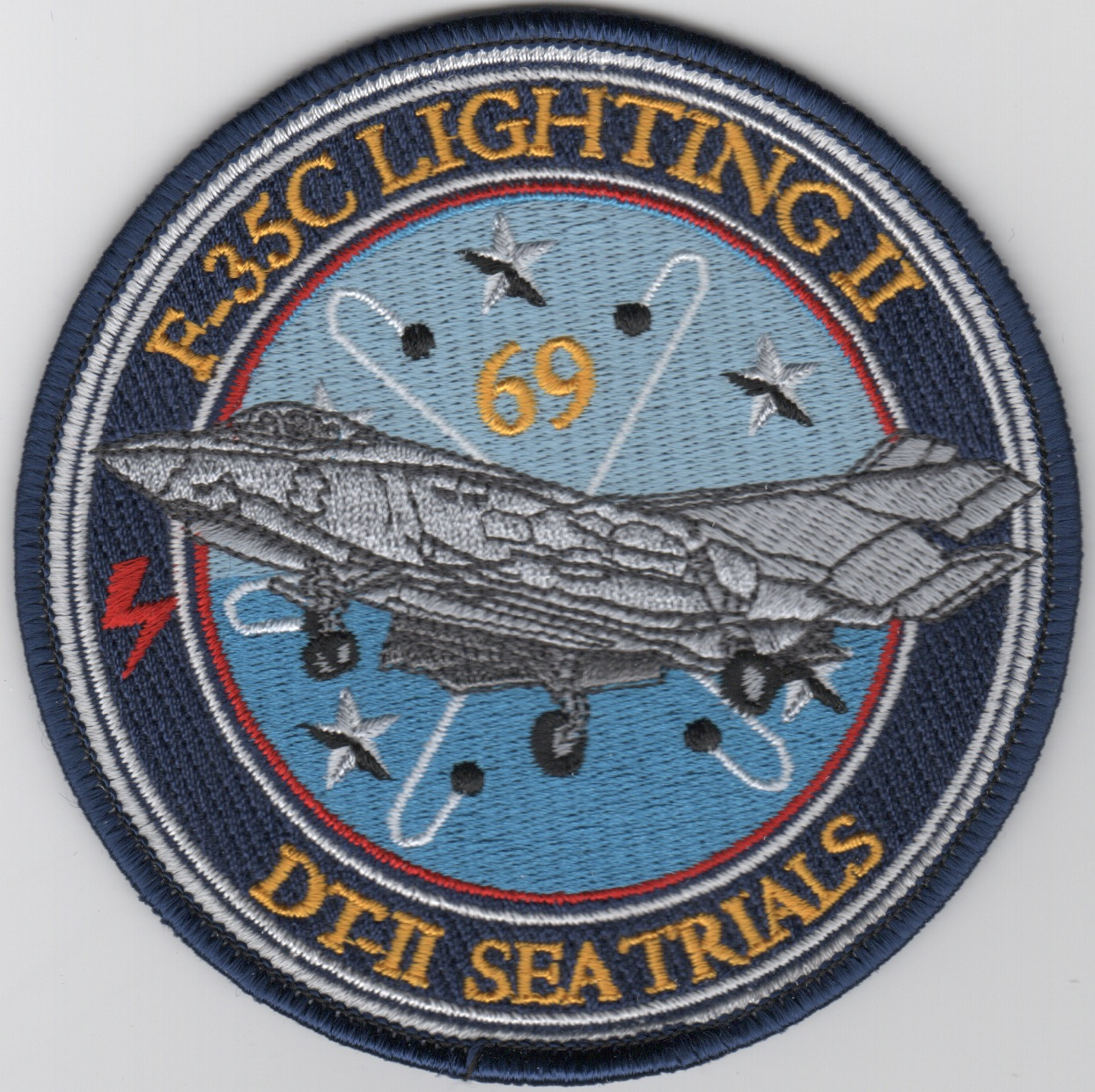 F-35/CVN-69 'Sea Trials' Patch