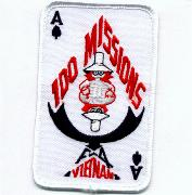 F-4 100 Missions Patch