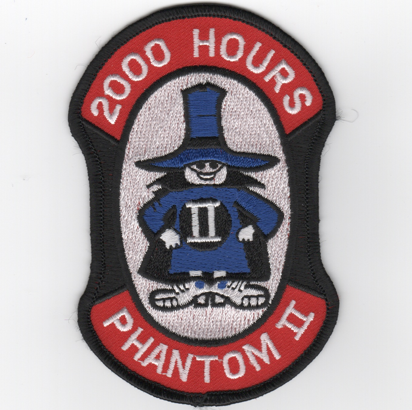 F-4 2000 Hours Patch
