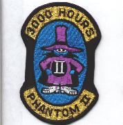 F-4 3000 Hours Patch