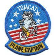 F-14 Tomcat Plane Captain Felix (Yellow Tab)