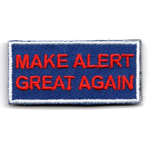 FSS - 'Make ALERT Great Again' (Blue/Velcro)