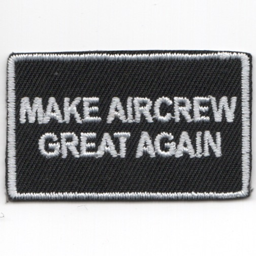 FSS - 'Make AIRCREW Great Again' (Black/No V)