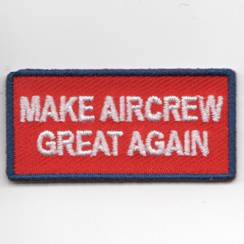 FSS - 'Make AIRCREW Great Again' (Red/NO Velcro)