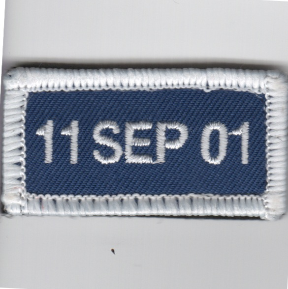 FSS - 11 SEP 01 (Blue/White)