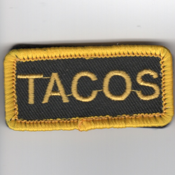 Flight Suit Sleeve - 150FW F-16 'TACOS' Patch