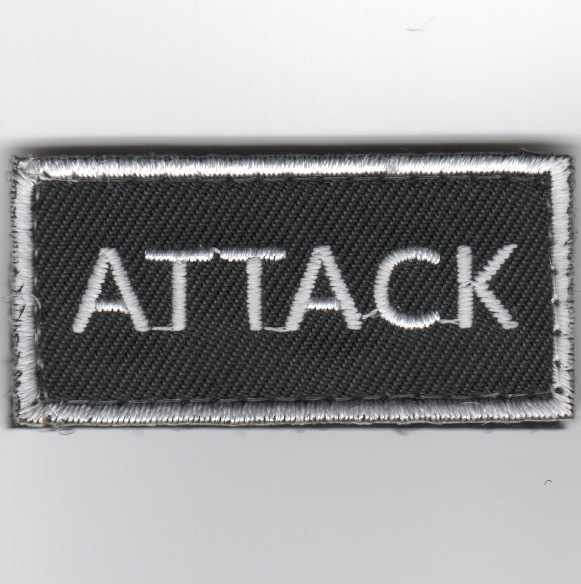 Flight Suit Sleeve - ATTACK (Black)