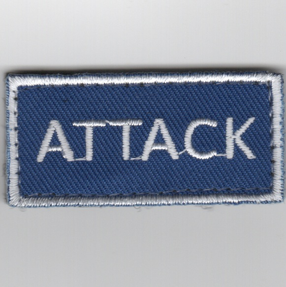 Flight Suit Sleeve - ATTACK (Blue)