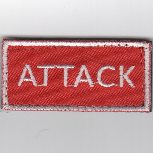 Flight Suit Sleeve - ATTACK (Red)