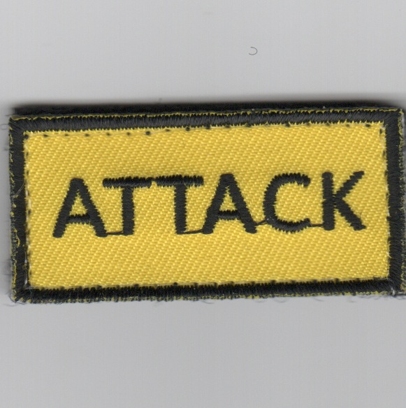 Flight Suit Sleeve - ATTACK (Yellow)