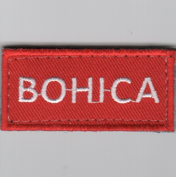 Flight Suit Sleeve - BOHICA (Red)
