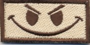 Flight Suit Sleeve - Evil Smiley (Desert)